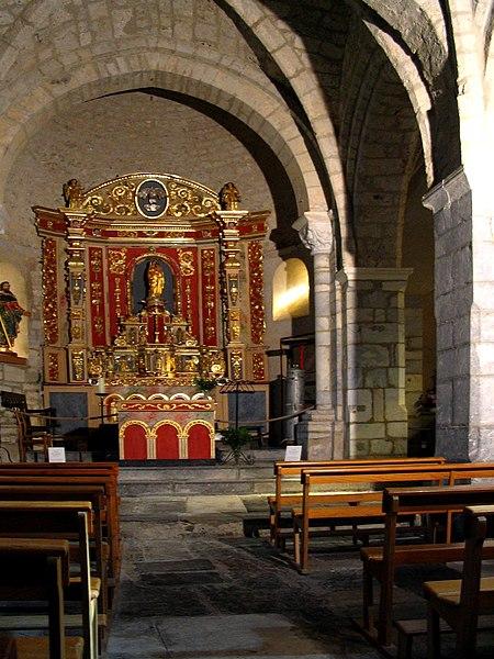 Photo du Monument Historique Eglise Saint-Jacques le Majeur situé à Béost