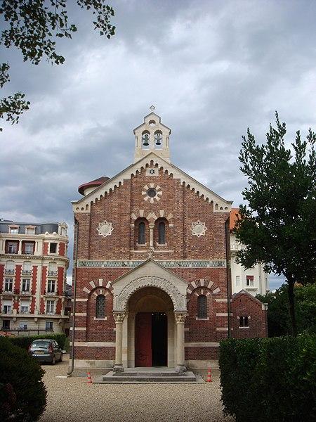 Photo du Monument Historique Chapelle Impériale situé à Biarritz