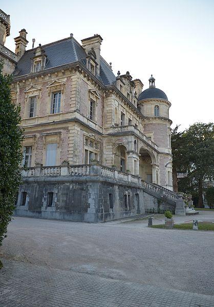 Photo du Monument Historique Château Boulard situé à Biarritz