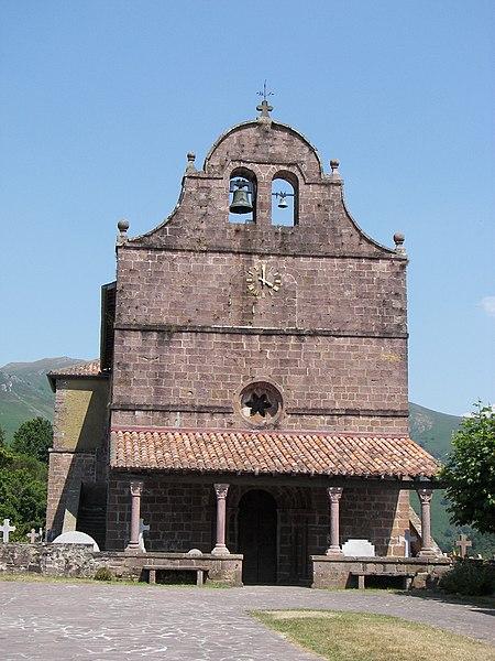 Photo du Monument Historique Eglise de l'Assomption situé à Bidarray