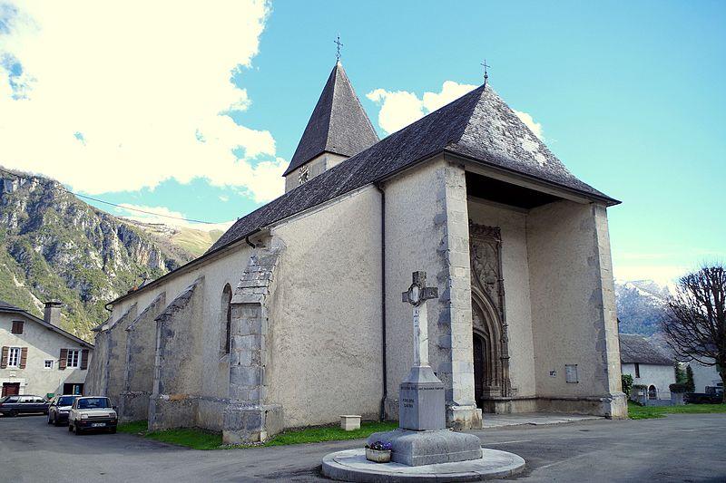 Photo du Monument Historique Eglise Saint-Vivien situé à Bielle