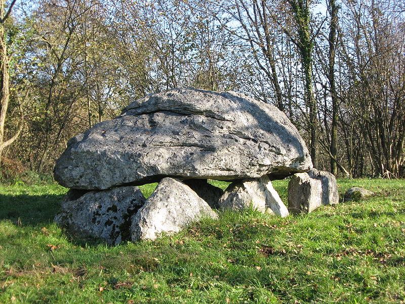 Photo du Monument Historique Dolmen dit Calhau-de-Teberno situé à Buzy