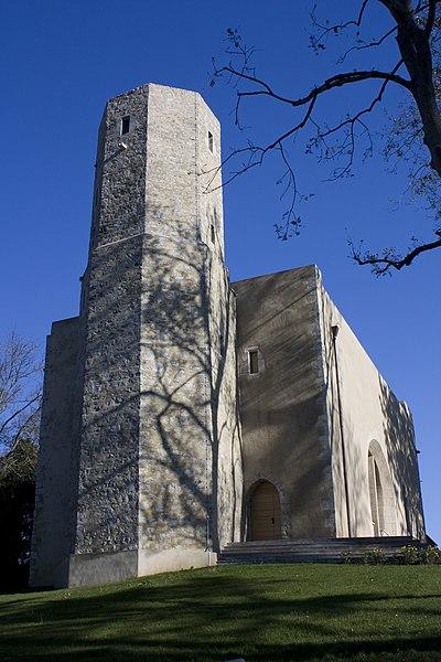 Photo du Monument Historique Ancienne église Notre-Dame de Bordagain, dite Tour de Bordagain situé à Ciboure
