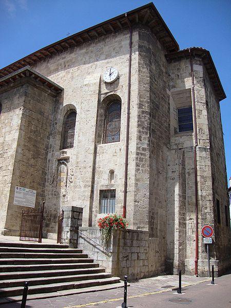 Photo du Monument Historique Eglise Saint-Vincent situé à Ciboure