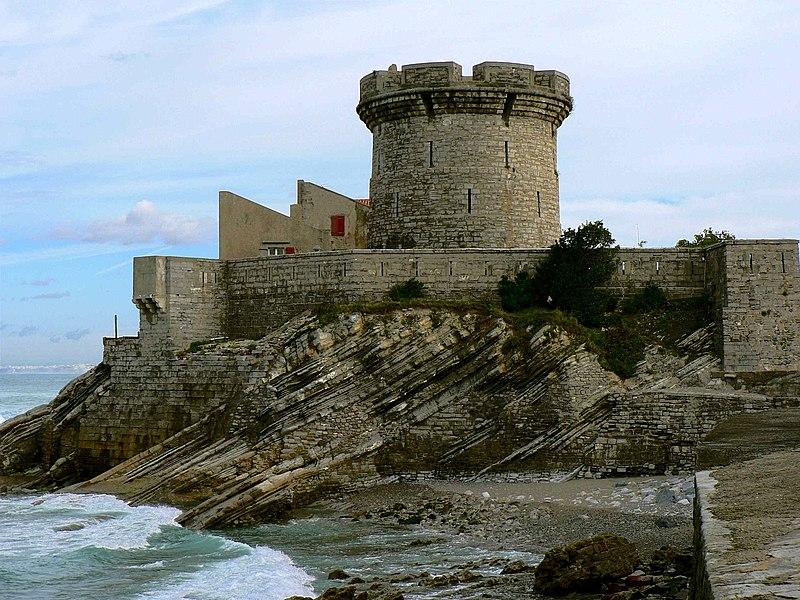 Photo du Monument Historique Fort du Socoa situé à Ciboure