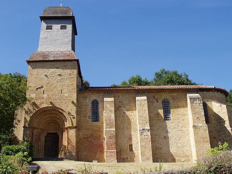 Photo du Monument Historique Eglise Saint-Jean-Baptiste situé à Diusse