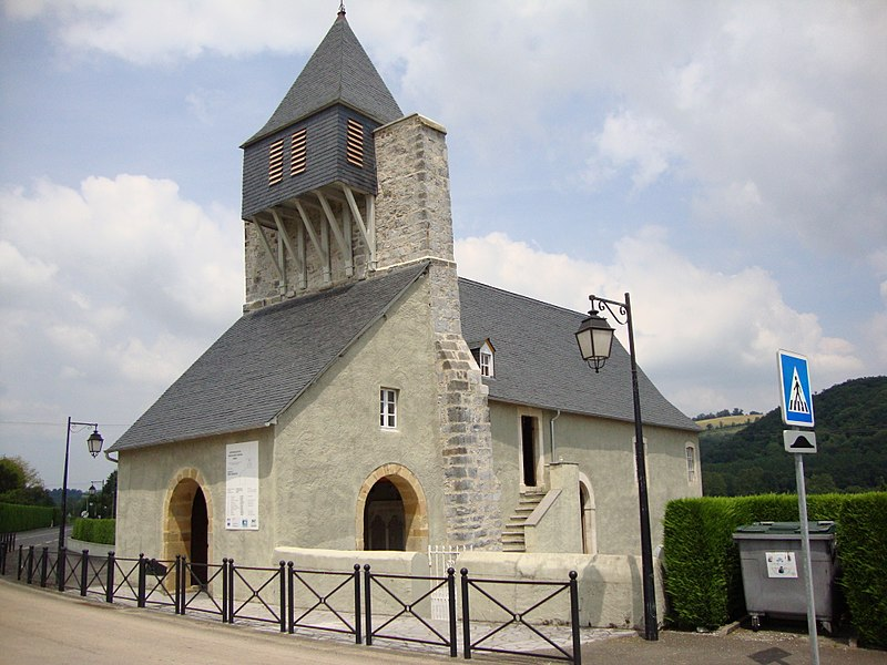 Photo du Monument Historique Eglise d'Undurein situé à Espès-Undurein