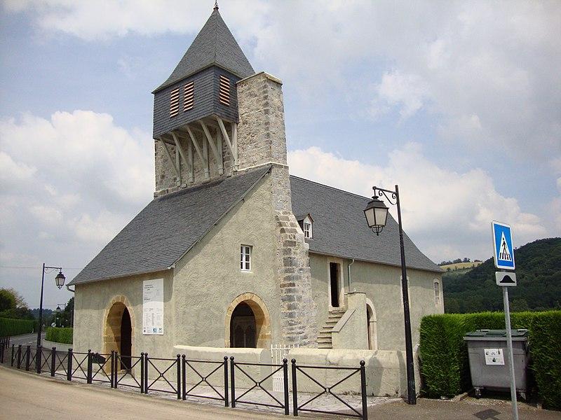 Photo du Monument Historique Eglise d'Undurein situé à Espès-Undurein