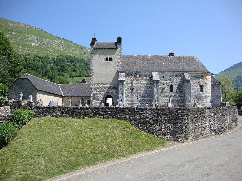 Photo du Monument Historique Eglise Saint-Jean-Baptiste situé à Haux