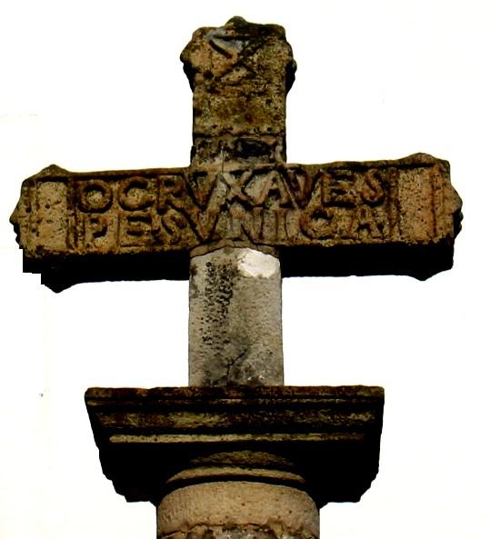 Photo du Monument Historique Croix de l'ancien cimetière situé à Hendaye