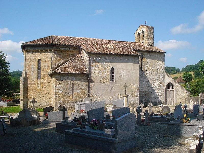 Photo du Monument Historique Eglise Sainte-Marie-Madeleine situé à Hôpital-d'Orion (L')