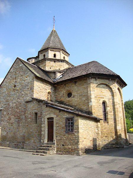 Photo du Monument Historique Eglise Saint-Blaise situé à L'Hôpital-Saint-Blaise