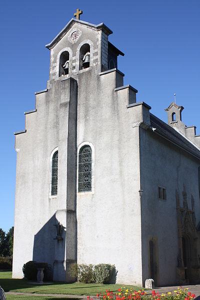 Photo du Monument Historique Eglise Saint-Vincent situé à Igon