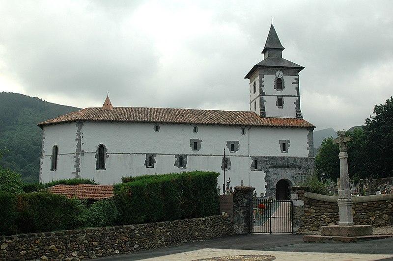 Photo du Monument Historique Eglise Saint-Fructueux situé à Itxassou