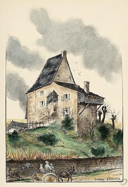 Photo du Monument Historique Château situé à Izeste