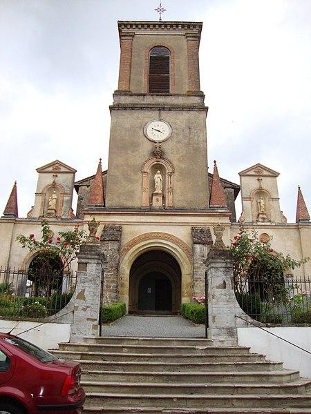 Photo du Monument Historique Eglise Notre-Dame de l'Assomption situé à Bastide-Clairence (La)