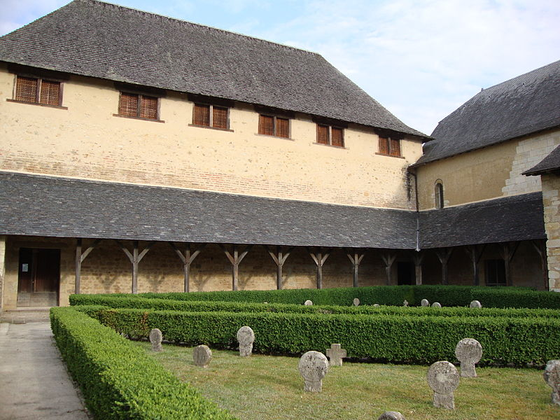 Photo du Monument Historique Ancienne commanderie situé à Lacommande
