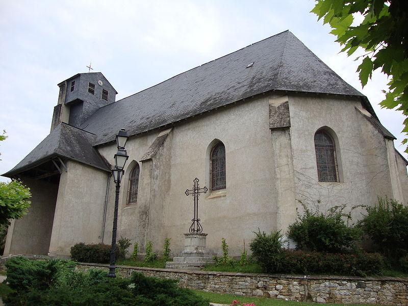 Photo du Monument Historique Eglise de l'Assomption situé à Lasseube
