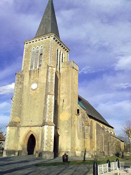 Photo du Monument Historique Eglise Notre-Dame-de-l'Assomption ou de l'Assomption de la Bienheureuse Vierge Marie situé à Lembeye