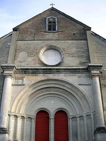 Photo du Monument Historique Eglise de l'Assomption, ancienne cathédrale situé à Lescar