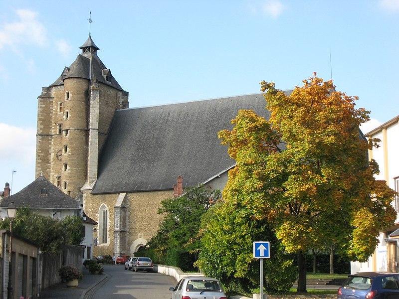 Photo du Monument Historique Eglise Saint-Girons situé à Monein
