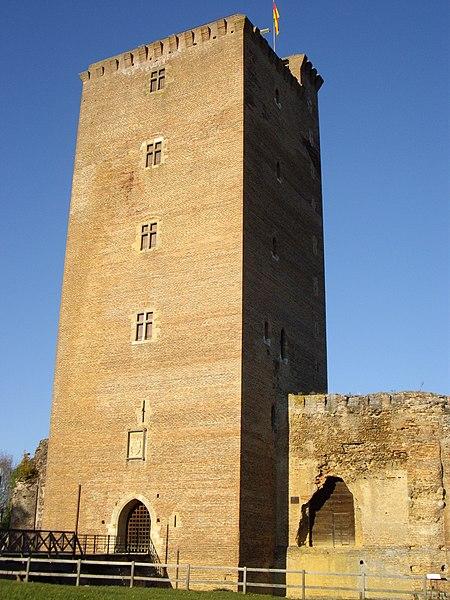 Photo du Monument Historique Château situé à Montaner