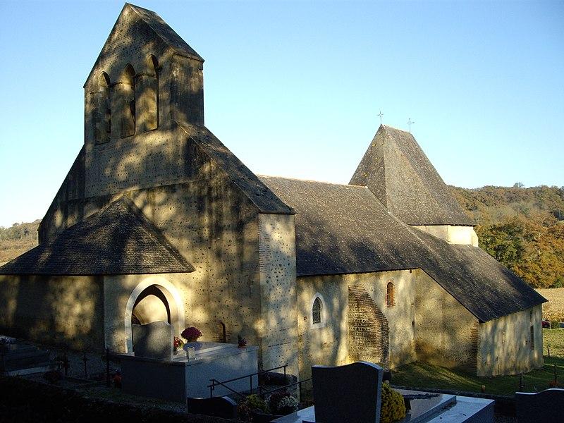 Photo du Monument Historique Eglise Saint-Michel situé à Montaner