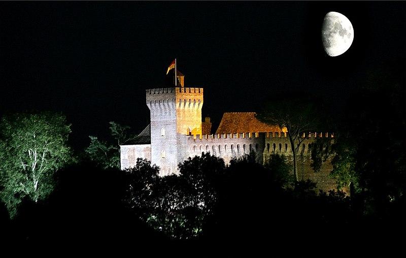 Photo du Monument Historique Château situé à Morlanne