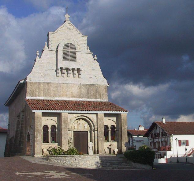 Photo du Monument Historique Eglise Saint-Jean-Baptiste situé à Mouguerre