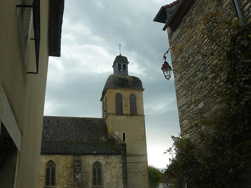 Photo du Monument Historique Eglise Saint-Germain d'Auxerre situé à Navarrenx