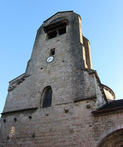 Photo du Monument Historique Eglise Sainte-Croix situé à Oloron-Sainte-Marie