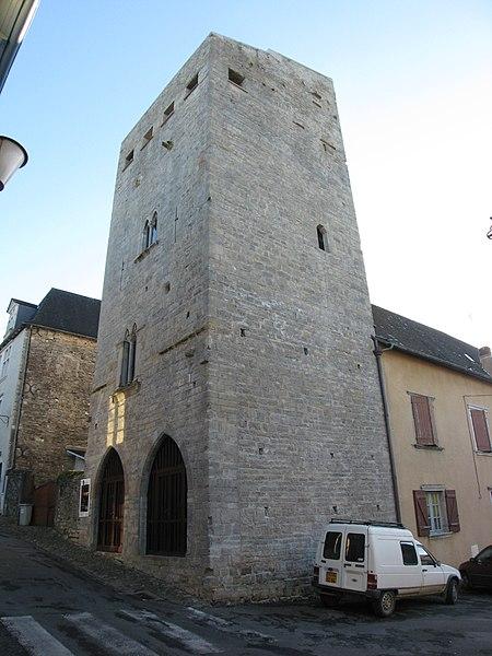 Photo du Monument Historique Tour de Grède situé à Oloron-Sainte-Marie