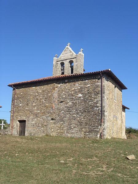 Photo du Monument Historique Chapelle Saint-Nicolas d'Harambels situé à Ostabat-Asme