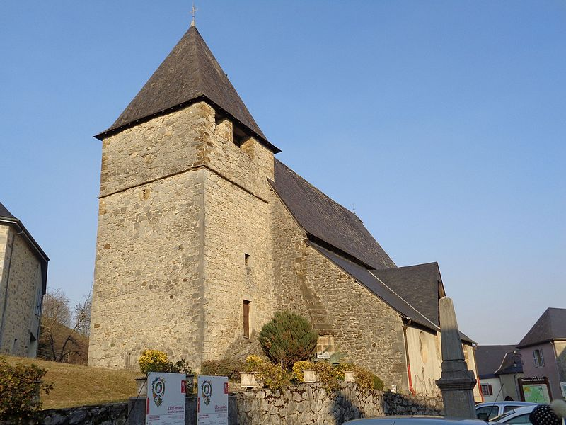 Photo du Monument Historique Eglise Saint-Sylvestre situé à Sainte-Colome