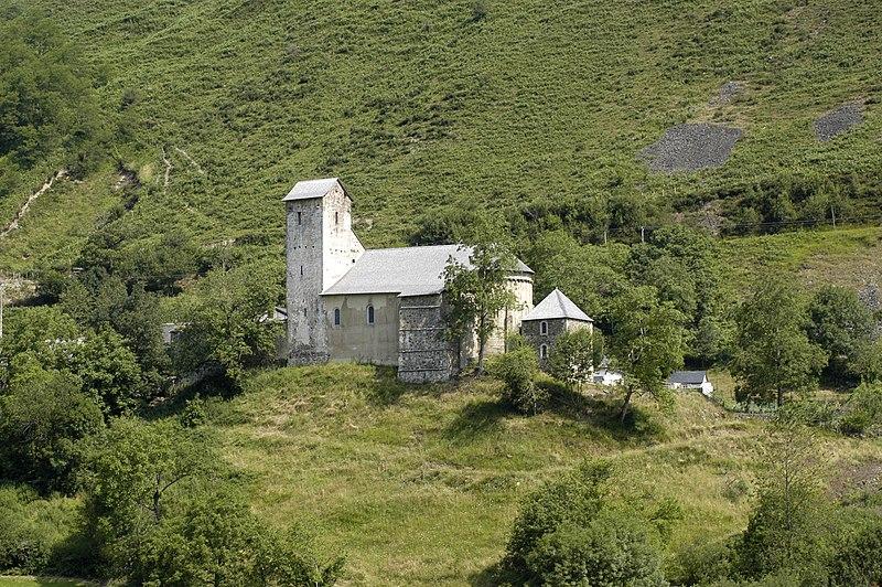 Photo du Monument Historique Eglise situé à Sainte-Engrâce