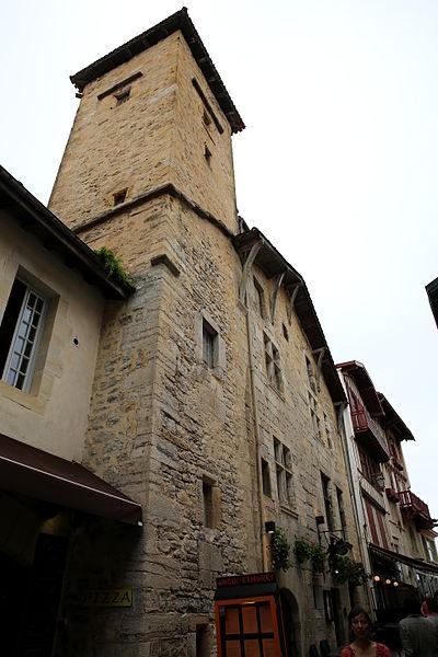 Photo du Monument Historique Maison Esquerrénéa situé à Saint-Jean-de-Luz