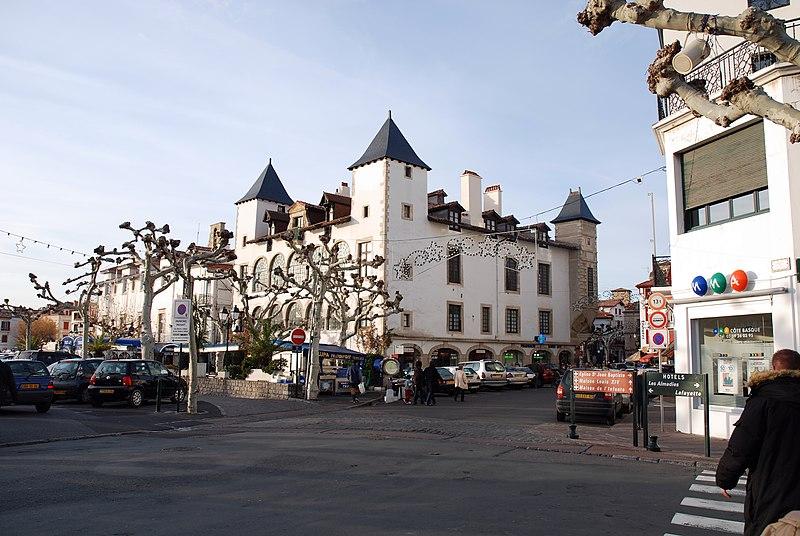 Photo du Monument Historique Maison dite Lohobiague Enea ou maison Louis XIV situé à Saint-Jean-de-Luz