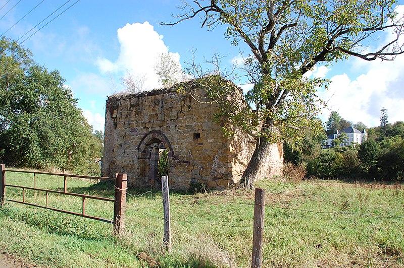 Photo du Monument Historique Chapelle Saint-Jean-Baptiste d'Urrutia situé à Saint-Jean-le-Vieux