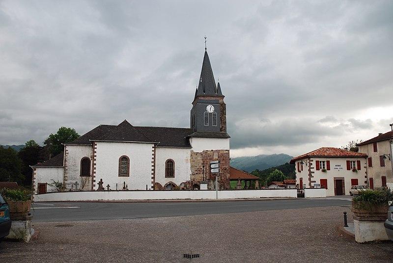 Photo du Monument Historique Eglise Saint-Pierre situé à Saint-Jean-le-Vieux