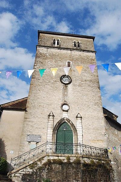 Photo du Monument Historique Eglise Saint-Vincent situé à Salies-de-Béarn