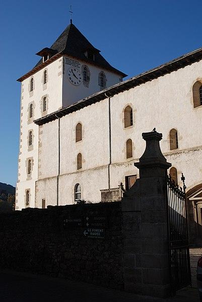 Photo du Monument Historique Eglise Saint-Martin situé à Sare