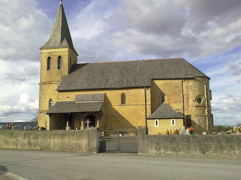 Photo du Monument Historique Eglise saint-Pierre situé à Simacourbe