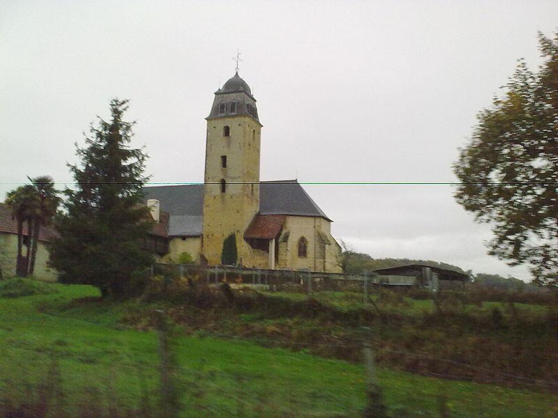 Photo du Monument Historique Eglise de l'Assomption de la Bienheureuse Vierge Marie de Taron situé à Taron-Sadirac-Viellenave