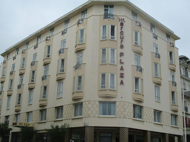 Photo du Monument Historique Hôtel Plaza situé à Biarritz