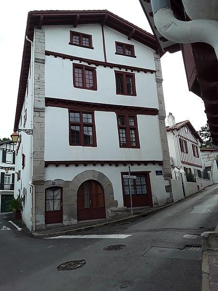 Photo du Monument Historique Maison Neria situé à Ciboure