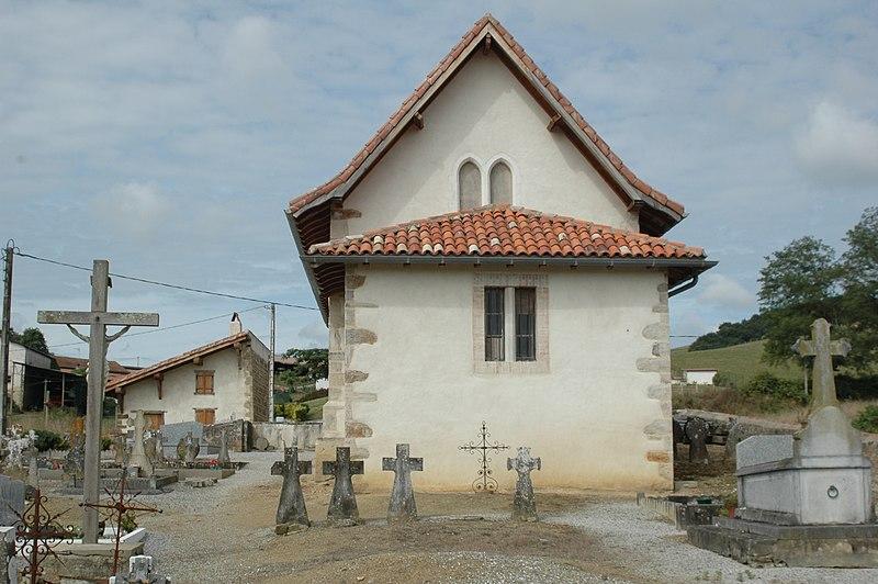 Photo du Monument Historique Eglise Saint-Martin de Succos, cimetière et ancienne benoiterie situé à Amorots-Succos