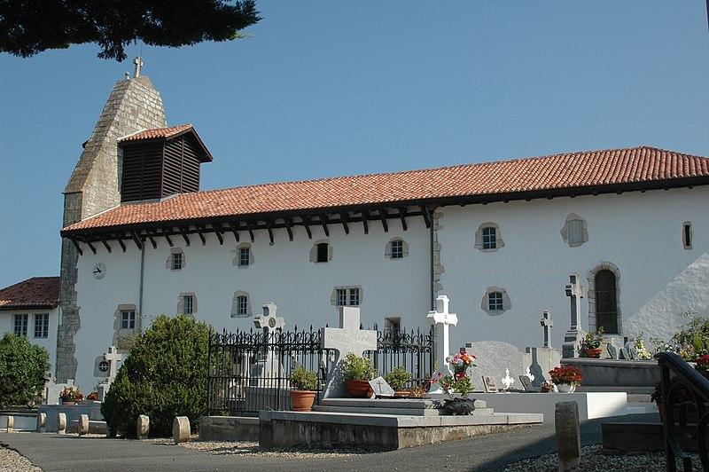 Photo du Monument Historique Eglise Saint-Laurent situé à Arbonne