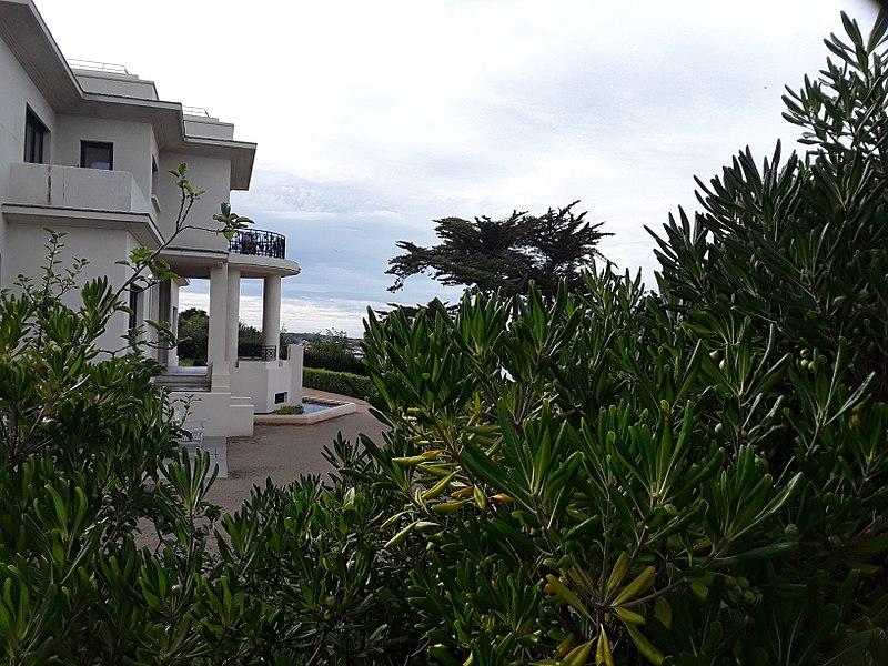 Photo du Monument Historique Villa Leïhorra situé à Ciboure