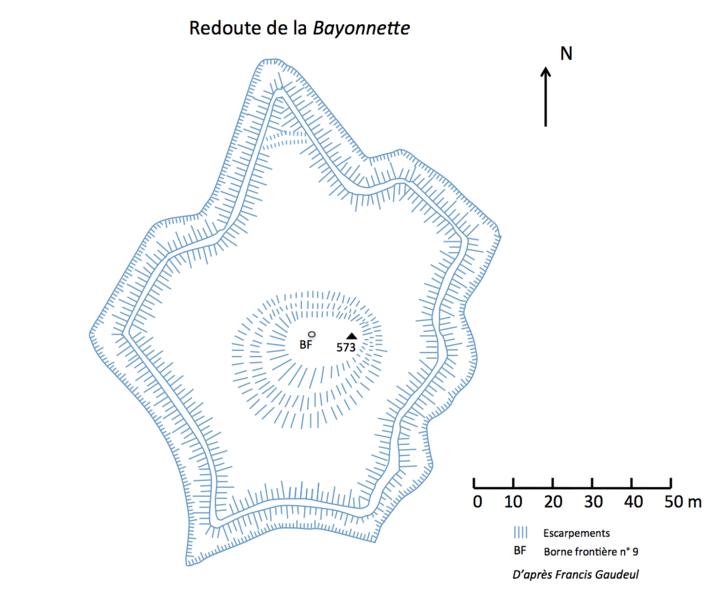 Photo du Monument Historique Redoute dite de la Bayonnette situé à Urrugne