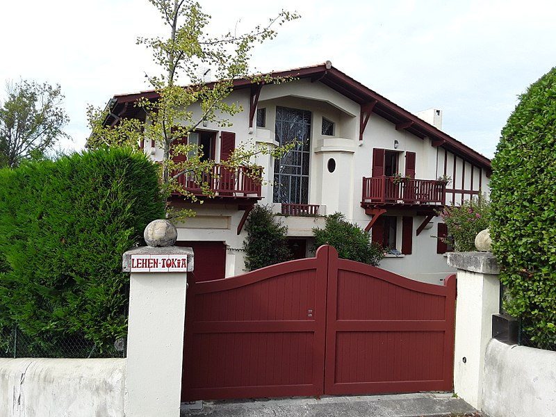 Photo du Monument Historique Villa Lehen-Tokia situé à Ciboure